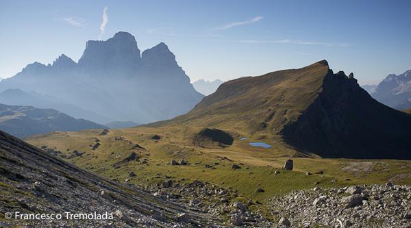 Re Artù (300m, 6b) sui Lastoni di Formin in Dolomiti., Francesco Tremolada