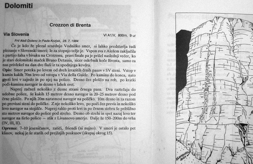 La realazione della Via Slovenia, archivio I. Ferrari - D. Spreafico