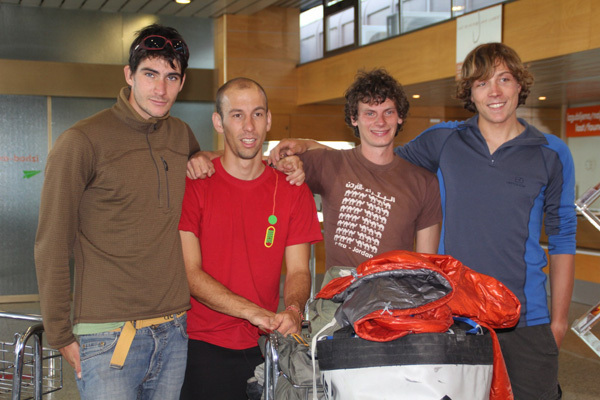 Urban Novak, David Debeljak, Luka Stražar and Nejc Marčič, Expedition Charakusa 2011