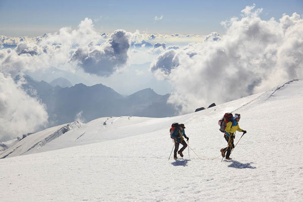 Hervé and Marco Barmasse, Monte Rosa, Damiano Levati