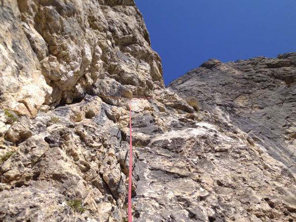 Marco Anghileri: first solo of Via Ultimo Zar on Prima Pala di San Lucano (Dolomites), Marco Anghileri