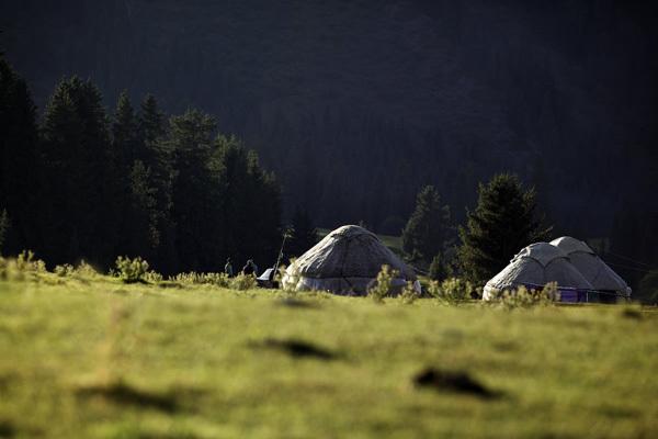 Nella valle Djety Orguz, Kirghizistan, Franz Walter |visualimpact.ch