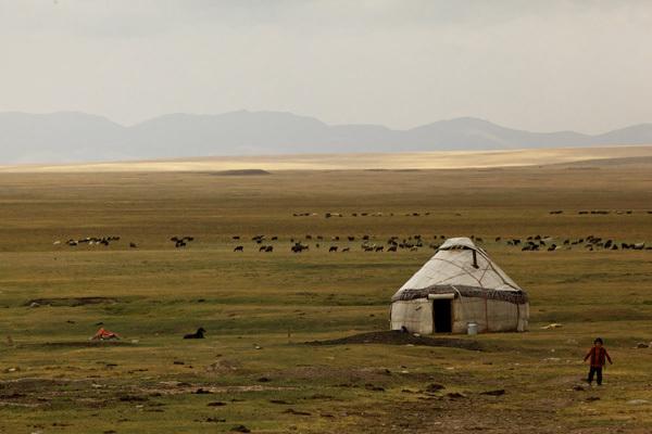 La vita dei nomadi Kirghizistan, Franz Walter |visualimpact.ch