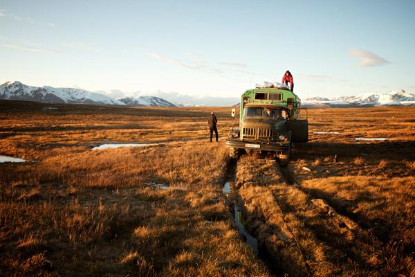 Bloccato nella palude, Kirghizistan, Franz Walter |visualimpact.ch