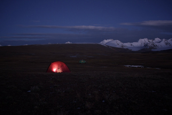 Camp in the swamp, Kyrgyzstan, Franz Walter |visualimpact.ch