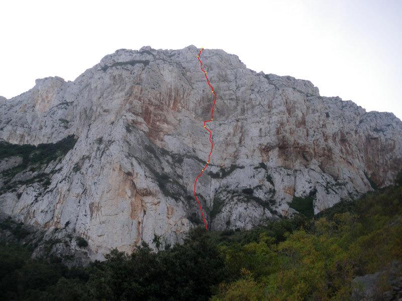 Punta Baloo Via Stella di Periferia, Monte Gallo, Palermo, archivio M. Flaccavento - G. Barbagallo