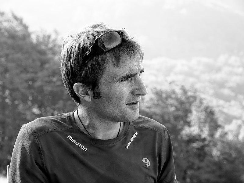 L'alpinista svizzero Ueli Steck, Erminio Ferrari