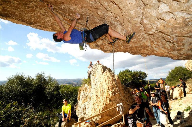 Luca Giupponi al 6° meeting L'acqua e la roccia di Roccadoria Monteleone, Italo Chessa