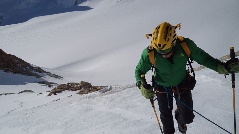 Micheal Lerjen in Patagonia, Lerjen