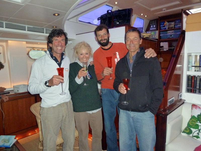 Beppe, Cristina, Michele e Luca, archivio Billy Budd