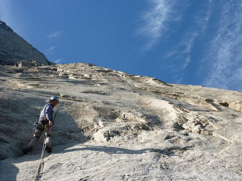 Beppe e il super granito della Groenlandia, archivio Billy Budd