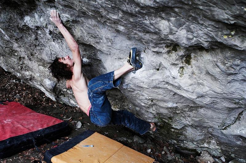 Adam Ondra su Terranova, 8C+, Vojtech Vrzba