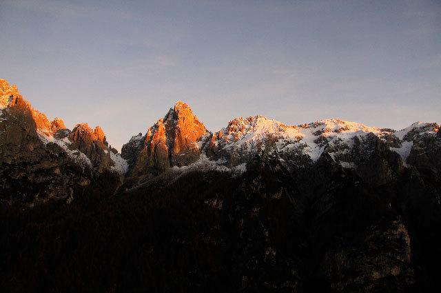 Panorama dal Bilico, Val Canali, archivio Manolo