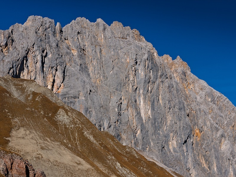 The South Face of the Schlusselkarspitze, Austria, Hansjörg Auer