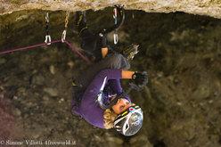 Angelika Reiner, M10 alla Grotta del Lupo, Domegge di Cadore