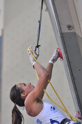 The French climber Alizée Dufraisse