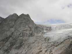 Corno Centrale, Corno Orientale e Vedretta di Salarno dalla vetta