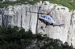 Esercitazioni di elisoccorso in montagna