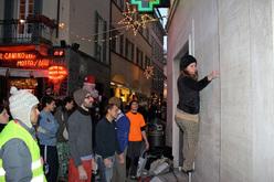 Sondrio Street Climbing 2011: la farmacia