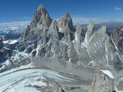The west face of Fitz Roy