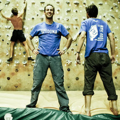 Climb For Life: the T-shirt and campaign to raise awareness among climbers about the need for bone marrow transplant.