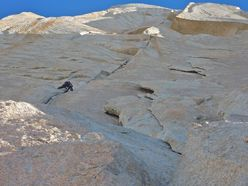 The Rise of the Machines (VI 5.11 A2 900m) on the SW Face of Aguja Poincenot, Fitz Roy massif, Patagonia