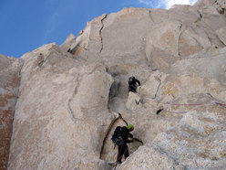 Aguja Poincenot, Patagonia. Sui tiri di roccia