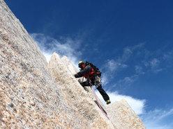 Aguja Poincenot, Patagonia. Verso la vetta