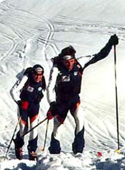 Graziano Boscacci e Ivan Murada impegnati nel Rally delle Orobie.