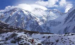 Nanga Parbat in winter