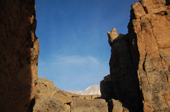Maurizio Oviglia, Babil 7a+, Kazikli Canyon, Turkey