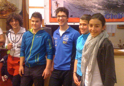 I giovani protagonisti del Mera Ski Alp 2012