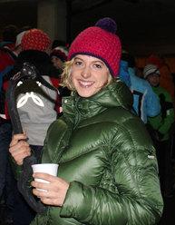 Angelika Rainer vincitrice della 2a tappa della Coppa del mondo di arrampicata su ghiaccio a Saas Fee e nuova campionessa europea
