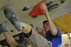 Boulder fino alla fine del mondo, 20 gennaio 2012: primo assalto al Drago. Michele Caminati.