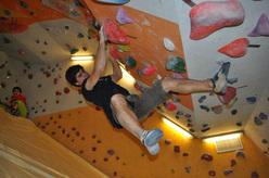 Boulder fino alla fine del mondo, 20 gennaio 2012: primo assalto al Drago. Marcello Bombardi.