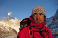 Austrian climber David Lama