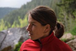 La climber tedesca Sarah Seeger