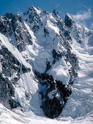 The North Face of Serra 3 from Radiant Glacier