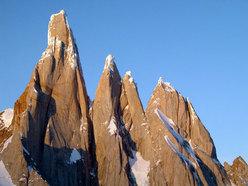 Cerro Torre, Torre Egger, Punta Herron, Torre Standhardt