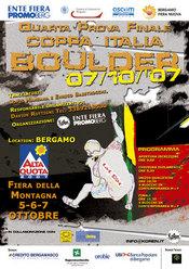 Il 7/10 alla Fiera di Bergamo è in programma la tappa finale della Coppa Italia Boulder 2007.