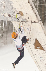 The 4th stage of the Ice Climbing World Cup 2012 at Busteni (Romania)