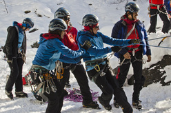 The third stage of the Mountain Academy 2 at Cogne (Valle d'Aosta, Italy).
