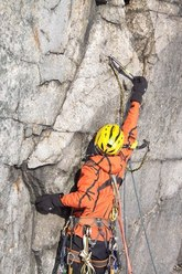 The difficult start to the last pitch of Headwall attack