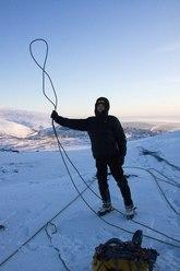 Frozen rope!