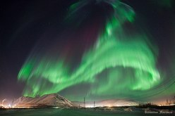 Northern Lights Aurora borealis 27/02/2012