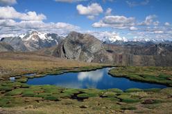 Cordilleras Huallanca, Blanca, Huayhuash, Raura, Negra