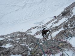 01/2012: Simon Gietl & Daniel Tavernin, ISO 2000, Tre Cime di Lavaredo, Dolomiti