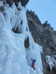 Nuove cascate di ghiaccio in Val Porsiglia (TN) per Peter Moser e compagni