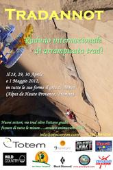 Tradannot, il raduno arrampicata Trad nella falesia di Annot dal 29 aprile al 1 maggio 2012