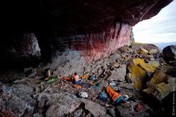 The cave Cuevo Autana